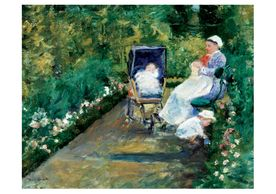 Mary Cassatt: Children in a Garden Notecard