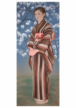 Chiura Obata: Maiden of Northern Japan Notecard