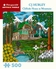 CJ Hurley: Cliffside House in Mountains 500-Piece Jigsaw Puzzle
