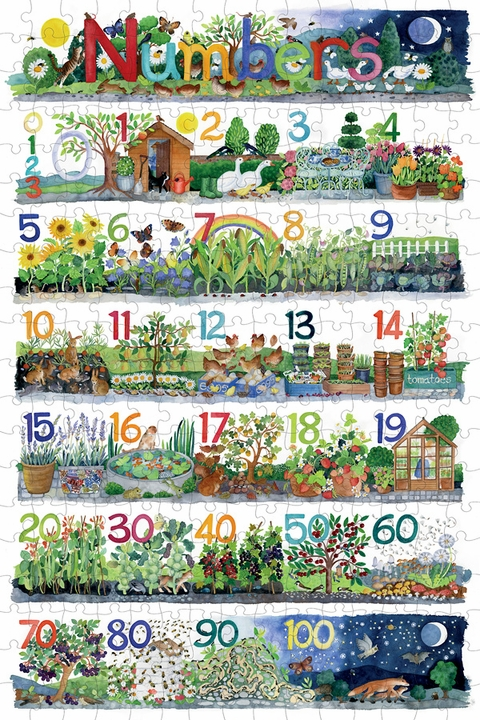 Claire Winteringham: Numbers 300-Piece Jigsaw Puzzle