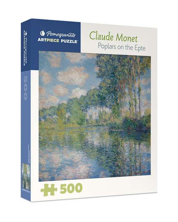 Claude Monet: Poplars on the Epte 500-piece Jigsaw Puzzle