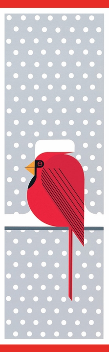 Charley Harper: Cool Cardinal Bookmark