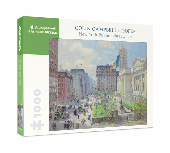 Cooper: New York Public Library 1000-Piece Jigsaw Puzzle