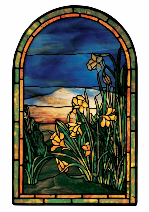 Daffodils Window Notecard