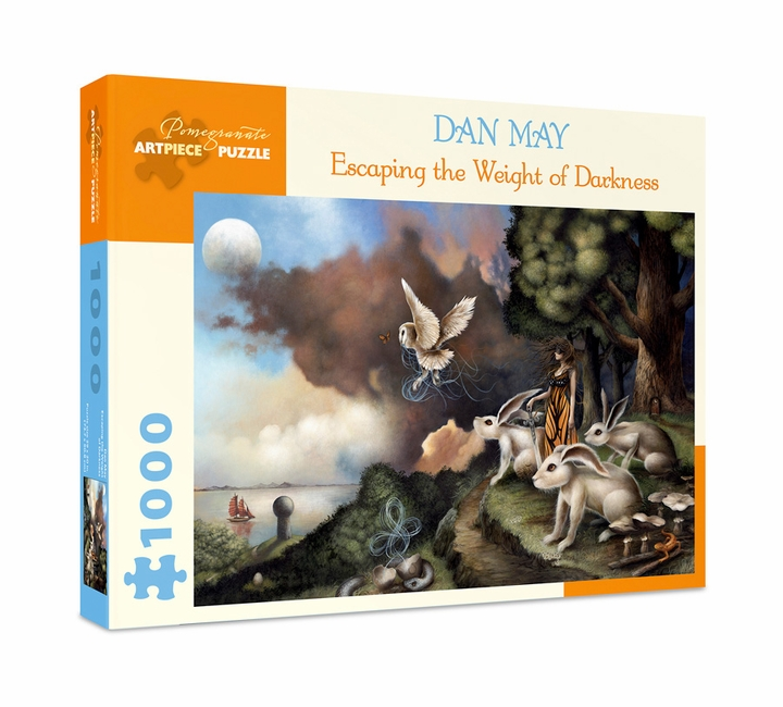 Dan May: Escaping the Weight of Darkness 1000-Piece Jigsaw Puzzle