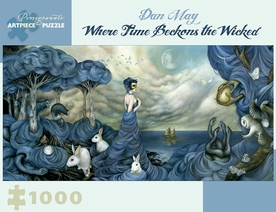 Dan May: Where Time Beckons the Wicked 1,000-piece Jigsaw Puzzle