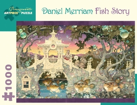 Daniel Merriam: Fish Story 1000-Piece Jigsaw Puzzle