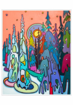 Darlene Kulig: Snow Ghosts Holiday Cards