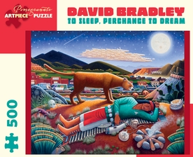 David Bradley: To Sleep, Perchance to Dream 500-piece Jigsaw Puzzle