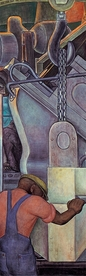 Diego Rivera: Detroit Industry North Wall Bookmark