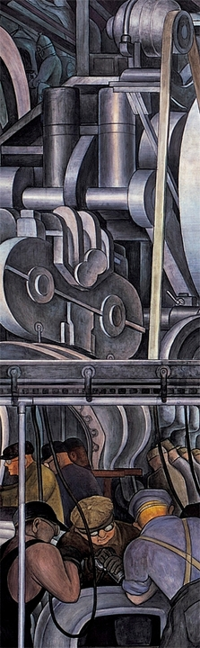 Diego Rivera: Detroit Industry South Wall Bookmark