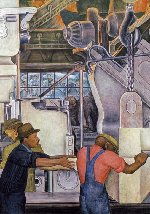 Diego Rivera: Detroit Industry Murals Boxed Notecards