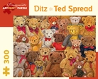 Ditz: Ted Spread 300-Piece Jigsaw Puzzle