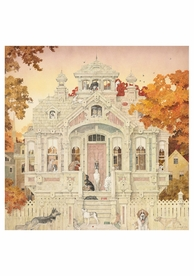 Dog House Notecard