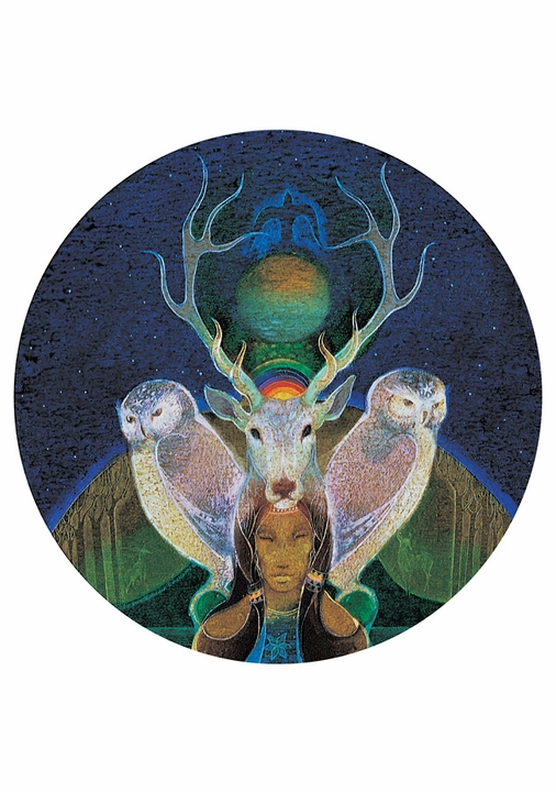 Dream Shaman Notecard