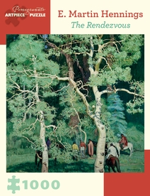E. Martin Hennings: The Rendezvous 1000-piece Jigsaw Puzzle