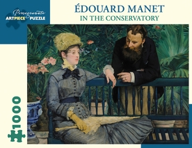 Edouard Manet: In the Conservatory 1000-Piece Jigsaw Puzzle