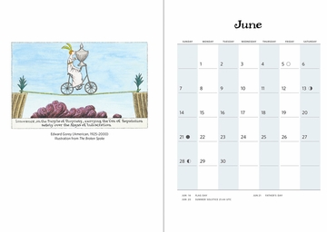 Edward Gorey 2020 Engagement Calendar