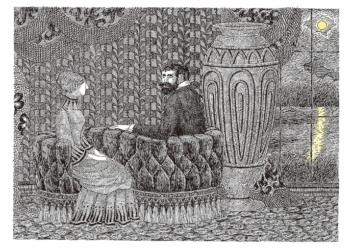 Edward Gorey: Close Encounters Boxed Notecards