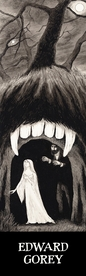 Edward Gorey: Dracula and Lucy Bookmark