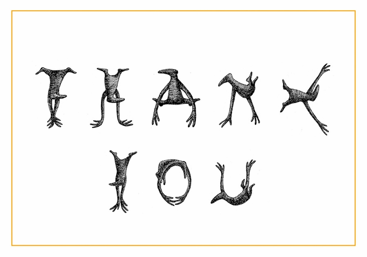 Edward Gorey: Figbash Thank You Notes