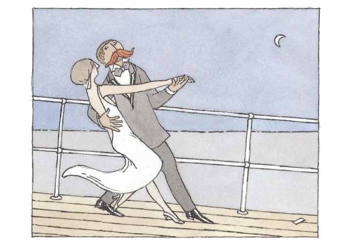 Edward Gorey: Serious Life: A Cruise Small Boxed Cards
