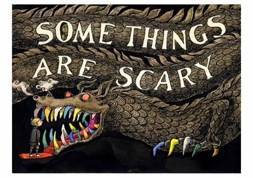 Edward Gorey: Some Things Are Scary Notecard