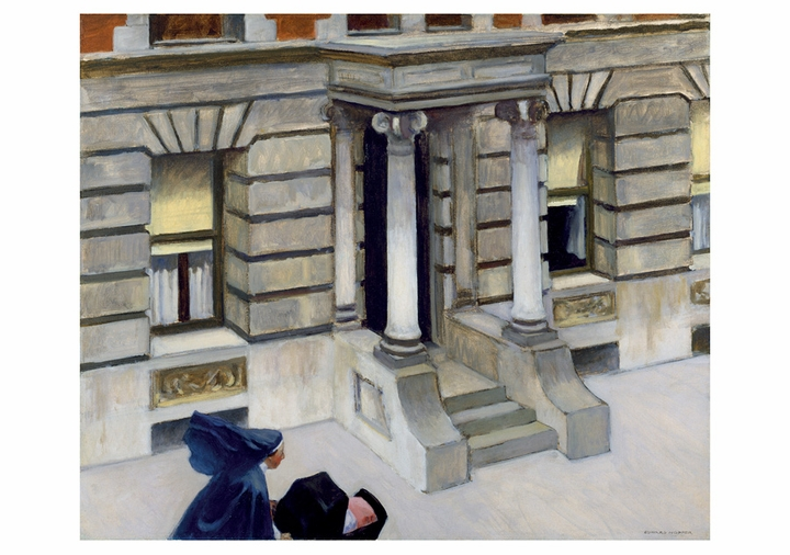 Edward Hopper: New York Pavements Notecard