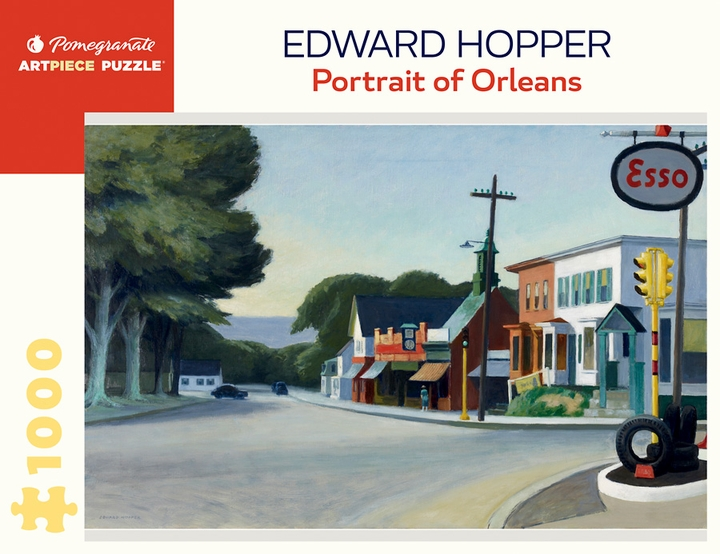 Edward Hopper: Portrait of Orleans 1000-Piece Jigsaw Puzzle