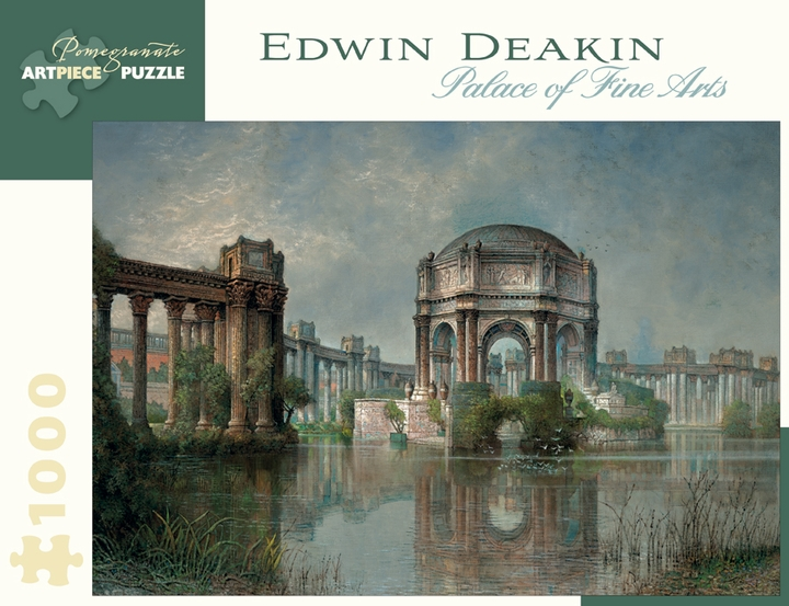 Edwin Deakin: Palace of Fine Arts 1,000-piece Jigsaw Puzzle