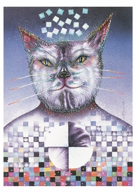 Judith Sparks: El Gato Birthday Card