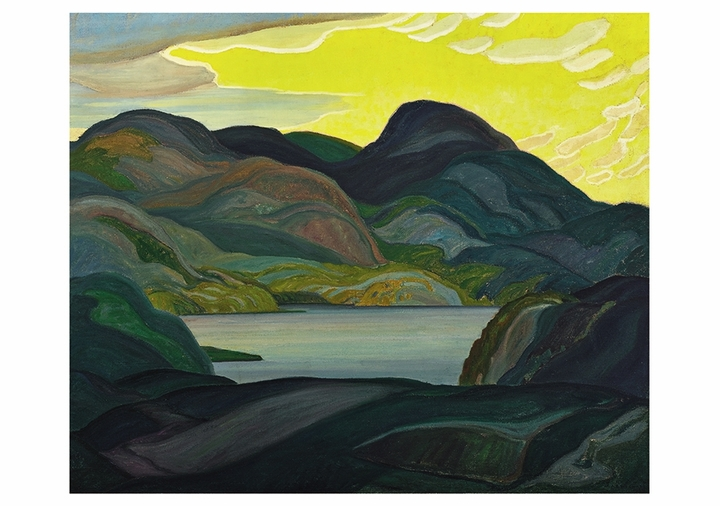 Franklin Carmichael: Evening Notecard