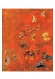 Odilon Redon: Evocation of Butterflies Small Boxed Cards