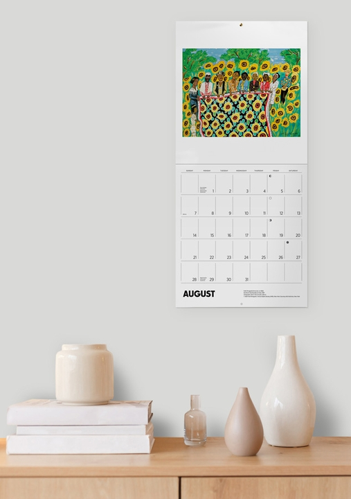 Faith Ringgold 2022 Wall Calendar