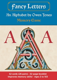 Fancy Letters: An Alphabet by Owen Jones Memory Game