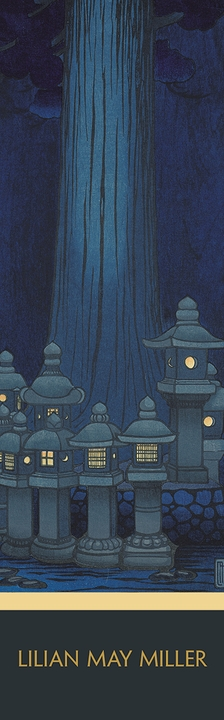 Lilian May Miller: Festival of Lanterns Bookmark