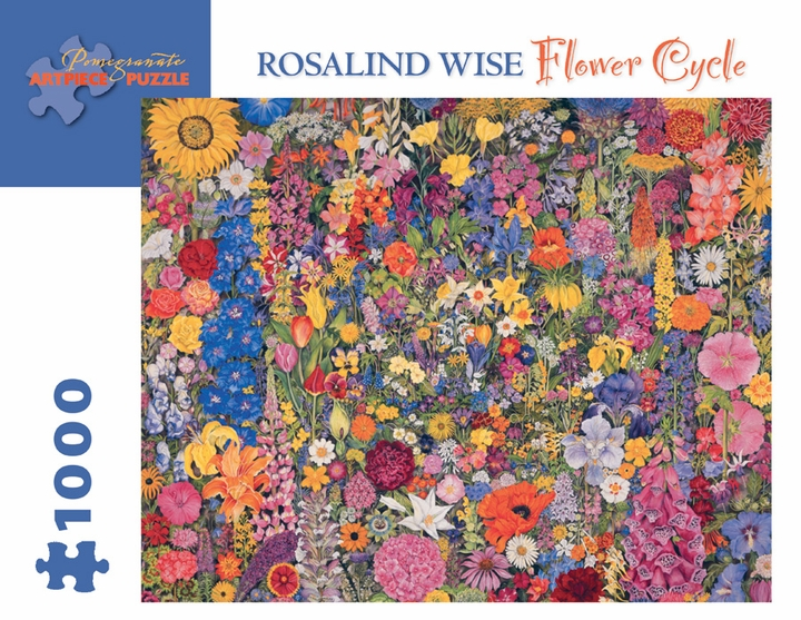 Flower Cycle 1000 Piece Jigsaw Puzzle