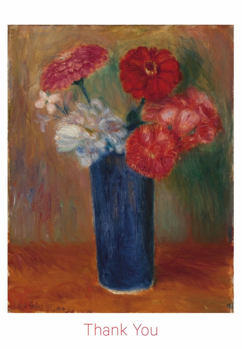 Flowers in a Blue Vase Boxed Thank You Notes