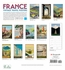 France: Vintage Travel Posters 2021 Wall Calendar