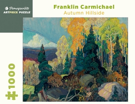 Franklin Carmichael: Autumn Hillside 1000-piece Jigsaw Puzzle