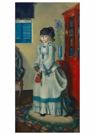 George Wesley Bellows: Lady Jean Notecard