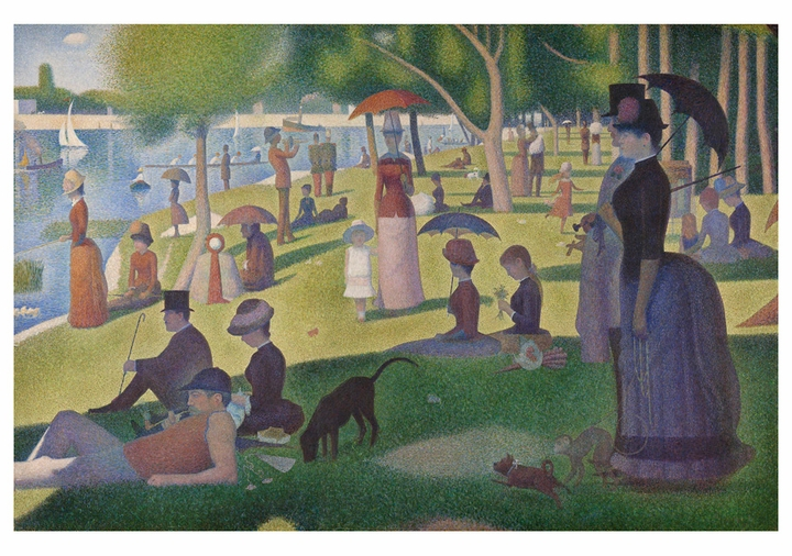 Georges Seurat: A Sunday on La Grande Jatte Notecard