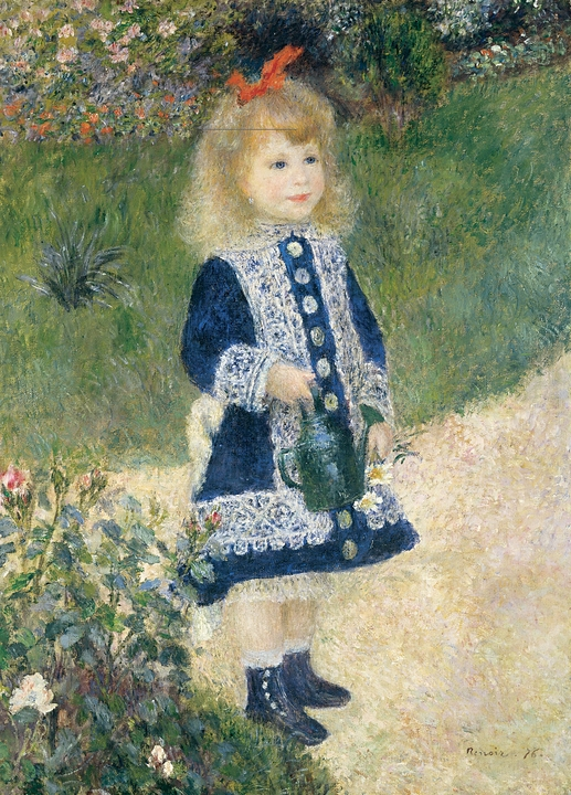 Pierre-Auguste Renoir: Girl with Watering Can Magnet