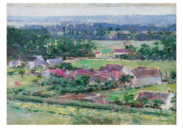 Theodore Robinson: Giverny Notecard