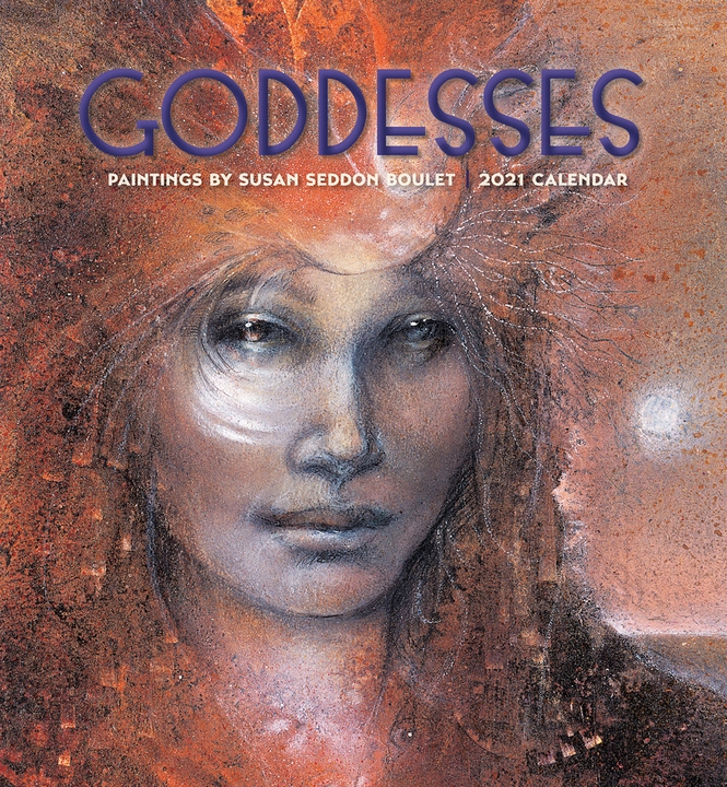 Goddesses: Paintings by Susan Seddon Boulet 2021 Wall Calendar