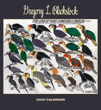 Gregory L. Blackstock 2020 Wall Calendar