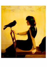 Harry Willson Watrous: The Chatterers Notecard