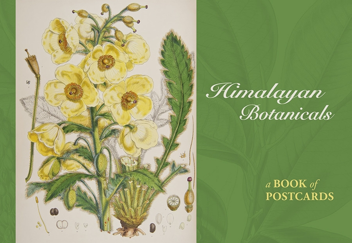 Himalayan Botanicals Book of Postcards