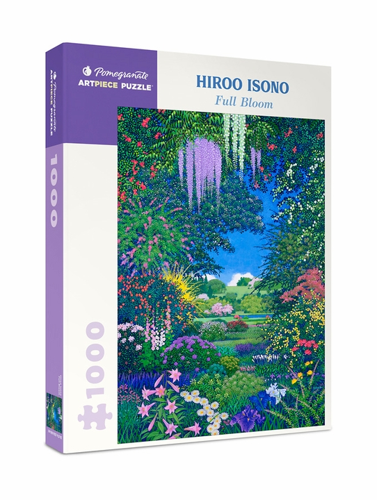 Hiroo Isono: Full Bloom 1000-Piece Jigsaw Puzzle