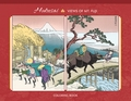 Hokusai: Views of Mt. Fuji Coloring Book
